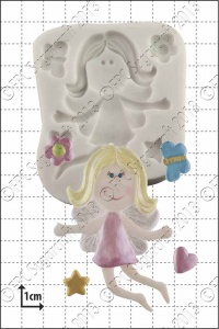 'Funky Fairy' Silicone Mould